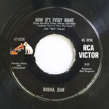 Country 45 Norma Jean - Now It'S Every Night / Jackson Ain'T A Very Big Town On