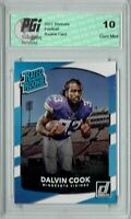 Dalvin Cook 2017 Donruss #343 Rated Rookie Card PGI 10