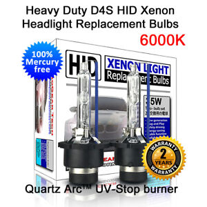 Heavy Duty D4S D4R 6000K OEM HID Xenon Headlight Replacement Bulb for Toyota