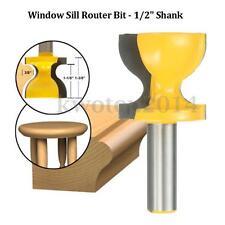 1/2'' Shank Window Sill Router Bit Door Pull Edge Stool Molding Woodworking Tool