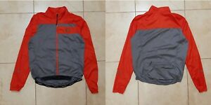 Pearl Izumi Cycling RAINCOAT JERSEY M CYCLE CAMISETA RED