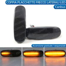 COPPIA FRECCE LATERALI FUME' PROGRESSIVE A LED FIAT GRANDE PUNTO, PUNTO EVO