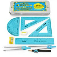 Helix Oxford Clash Complete and Accurate Maths Set - 9 Piece set - Blue Edition