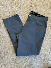 EDDIE BAUER 38x32 Gray Water Resistant Stretch 5-Pocket Pants