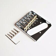 NEW Tele Telecaster Vintage Ashtray Bridge With 6 Individual Brass Saddles