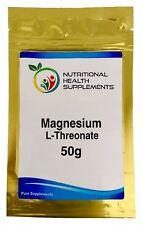 Magnesium L-Threonate 50g Powder - Brain Magnesium