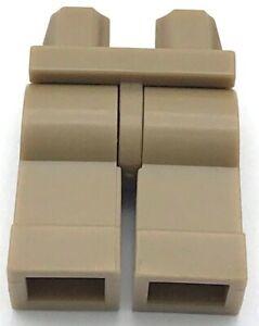 Lego New Dark Tan Hips Minifigure Legs Plain Pants Pieces