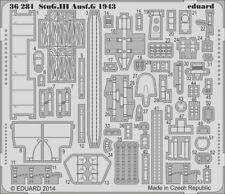 Eduard #36281 1/35 German StuG III Ausf.G 1943 Detail Set for Dragon kit