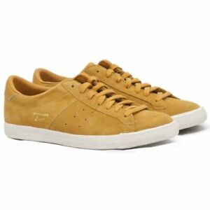 ASICS Onitsuka Tiger Lawnship Tan Mens Womens Leather Casual Trainers Sneakers