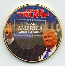 Donald Trump 2020 Gold Coin MAGA Republican Keep Make America Great New Yorker