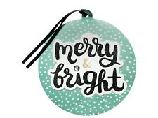 New ! 4 X 6 counts 'Merry & Bright' Premium Gift Tag Set - Wondershop