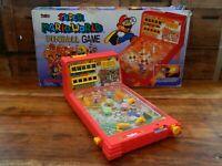 Super Mario World Pinball Machine Playtime 90's Retro Boxed