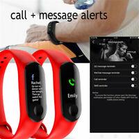 Smart Wristband Bracelet Watch Heart Rate Monitor Blood Pressure Fitness Tracker