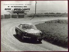 course automobile. Rallye . course de cote de Lyon-Limonest . Mt-Verdun .1964
