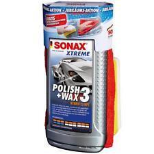 Sonax XTREME Politur Polish&Wax 3 500ml 65 Jahre inkl. Schwamm & Mikrofasertuch