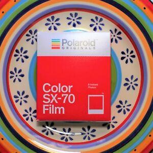 *NEW* Polaroid Colour instant film for SX-70 (FREE POST)