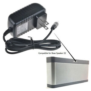 DC Power Adapter Charger for/Bose Soundlink Wireless Speaker III 3 369946-1300