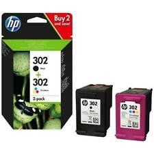 MULTIPACK HP 302BK + HP 302C X4D37AE ORIGINALE PER HP 3830 3832 4650 2130