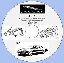 JAGUAR XJ-S 3.6, 5.3 V12 e He-Riparazione, operazioni manuali e gli elenchi delle parti