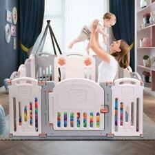 Baby Portable Folding playpen Kids Activity Centre Safety Play Yard Home Indoor