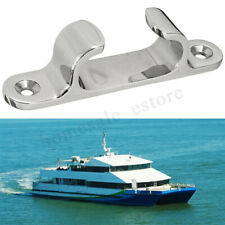 4'' Stainless Steel Polished Boat Dock Deck Cleat Line Yacht Marine Hardware