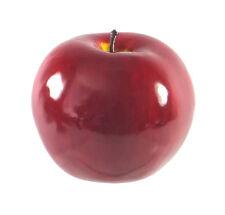 Artificial Jonathan Nova Apple Large Shiny Plastic Fruit Round Red Apples Fake