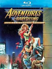 Blu Ray ADVENTURES IN BABYSITTING. Elisabeth Shue. Region free. New & sealed.