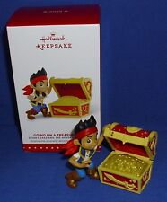 Hallmark Ornament Jake and The Never Land Pirates Going on a Treasure Hunt 2015