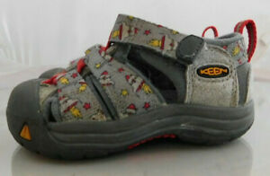 Infant KEEN Newport Sport Sandal Size: 5C Color: Gray Red