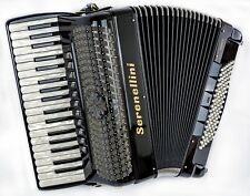 Serenellini Double Cassotto 374 Piano Accordion - 37/96 Bass - Magnetic MIDI