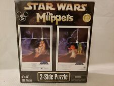 Star Wars The Muppets TWO SIDED PUZZLE Rare Disney Exclusive RARE SEALED NIB