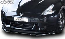 Lip spoiler,Bumper, Extension, Splitter,Front Spoiler NISSAN 370 Z -2012