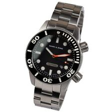 Marc & SONS Professional Diver Watch Automatico Miyota 9015 Orologio Uomo msd-026