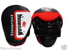 Morgan ENDURANCE Boxing Punch Pads focus mitts hook jab new pair gloves