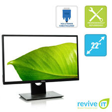 """Dell P2217H 22"""" Widescreen Full HD 1920x1080 IPS LED LCD Monitor HDMI DP Grade A"""
