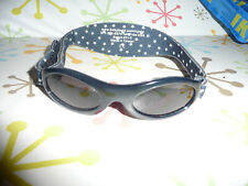 Baby Banz navy with stars Sunglasses - Age 0-2 years - EXC