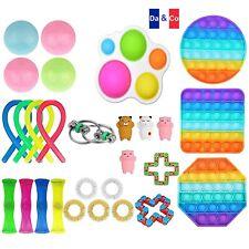 Lot de 29 Anti Stress Sensoriel Push Pop It Fidget Toy Anti-Stress Relief TikTok
