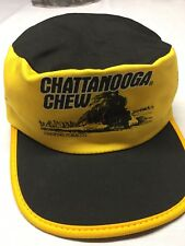 Vintage NOS Chattanooga Chew Hat Cap Painter Steam Engine Train Chewing Tobacco
