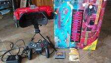 Nintendo Virtual Boy Console System & Box & Mario Game & Controller & AC Power