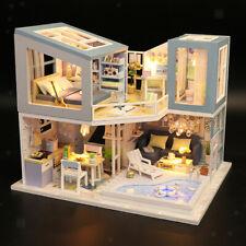 Casa Delle Bambole In Miniatura Fai-da-te Fatta A Mano Modello Assemblato A Mano