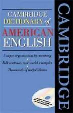 Cambridge Dictionary of American English Book and CD-ROM by