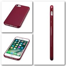 Original Apple iPhone 7 Funda Cubierta De Roca Genuino Tech 2 Flex TPU Gel Parachoques Rojo
