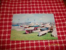 Vintage Postcard - Sailboats & Yachts, Southern New England Shore, GAF Color