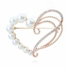 Imitation Pearl Costume Brooches and Pins