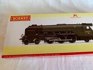 "Hornby 00 Gauge Late BR Thompson Class A2/3 4-6-2 ""Sun Castle"" Locomotive 60523"