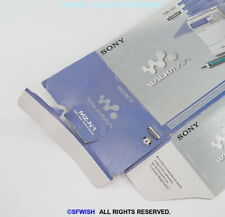 Original Sony Paper Box Cover Only! For Mz-N1 Net Md Walkman *Have A Tear!*