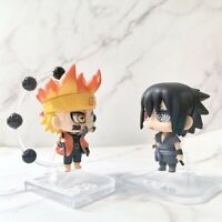 9CM Naruto Uchiha Sasuke Model Action Figure Anime Figurine Collectible Kids Toy