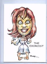 THE EXORCIST ** TRADING CARD ART SIGNED by RAK ** HORROR ** NEAR MINT