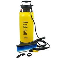 Pro Portable Pressure Washer Power Pump Car Jet Wash Brush Hose Lance 8L Cleaner