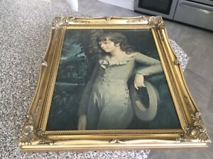 """""""Vintage french style rococo gold gilt frame"""